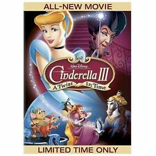 Cinderella III: A Twist in Time (DVD, 2007) Format:DVD Rating:G; For ALL Ages
