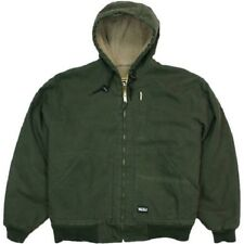 Walls Men's Washed Duck Sherpa Lined Hooded Jacket
