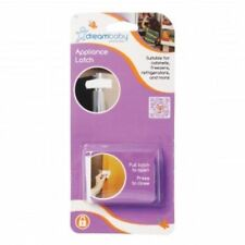 Dreambaby Hook & Loop Appliance Safety Latch - Child Toddler Oven Fridge Lock