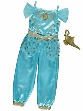 George Disney Princess Jasmine Kids Girls Fancy Dress Outfit Costume