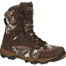 """Rocky RKS0203 Retraction 8"""" Waterproof 800g Insulated Mossy Oak Hunting Boots"""