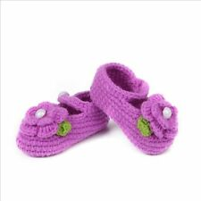 Booties Baby Prewalker Girl Crochet Handmade Newborn Shoes Socks Knit Crib
