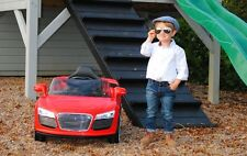 Children Kids Audi Style 12v Electric Battery 2 Speed  Ride on Toy Car Remote