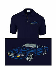 Classic Car Triumph TR7 Classic Car Embroidered Polo Shirt Personalised Free P&P