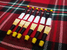 Highland Bagpipe Pipe Chanter Cane Reeds/Practice Chanter Syntactic Reeds 3 Pcs