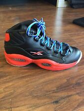 Reebok Question Mid SS Black/Blue/Red