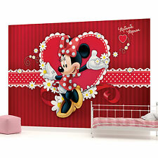 Mickey Mouse Girls Kids Childrens PHOTO WALLPAPER WALL MURAL ROOM DECOR 4-015PP