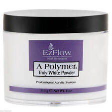 EzFlow A Polymer Acrylic Powder 4oz Clear, Pink, Truly White, Natural 4oz NEW!