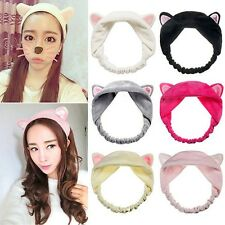 Cute Cat Ears Headband Wash Shower Cap Hair Accessories Hair Head Band
