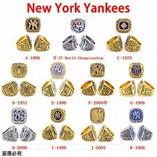 1996 1978 1953 1999 2000 2009 1998 2003 New York Yankees Championship Ring Gift
