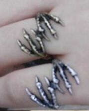 NEW Funky Rock Punk Eagle Claw Ring, Size I, UK Seller