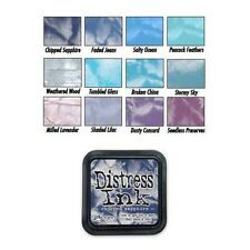 Tim Holtz Distress Rubber Stamp Ink Pad Blues/Purples