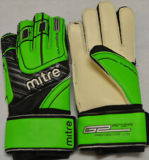 MITRE ANZA G2 (FINGER) PROTECTOR JNR GOALKEEPER GLOVES NEW SIZES 4 TO 5 BNIB
