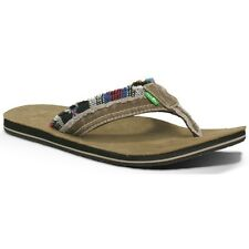 Sanuk Flip Flop - Fraid Too - Tan