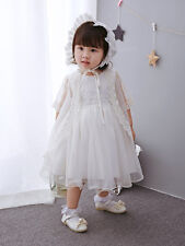 Elegant Embroidery Lace Baptism Dress Tutu Christening Gown Christening Dress