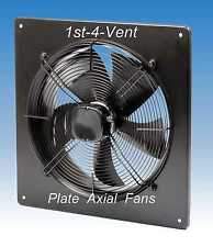 630mm PLATE AXIAL EXTRACTOR FAN, 1 PHASE, 6 Pole, Commercial Kitchen Ventilation