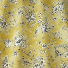 NEW iLiv SMD Finch Toile Floral Buttercup Curtain and Upholstery Fabric