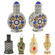 Vintage Crystal Empty Perfume Bottles Refillable Decorative Glass Female Gifts