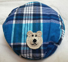 NEW  NEWSBOY GOLF CAP HAT 12 24 MONTHS 2 3 4 5 6 YRS BOYS BABY INFANT TODDLER