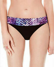 Profile by Gottex Black Snake Charmer Hipster Tankini Bikini Swimsuit Bottom NWT