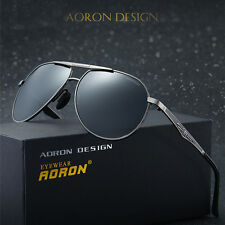 Aluminum Mens Fashion Polarized Aviator Driving Sports Sunglasses Eyewear Shades