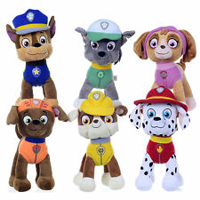 """New official 12"""" Paw Patrol Pup Plush soft toy Nickelodeon Dogs Chase, Rocky,"""