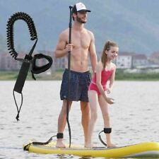 Heavy Duty SUP Surfboard Surf Leash Paddle Board Coiled Cord Leg Rope 10/11/12ft