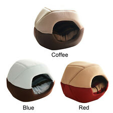 Dog Pet Cat Bed Puppy Soft Warm Mat Pad Lovely House Cave Mat Pad Nest Pet Beds