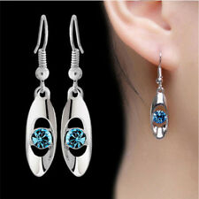 Plated Fashion Hook Earring Hook Drop Dangle Crystal Jewelry Earrings Women