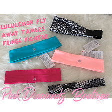 LULULEMON HEADBANDS NEW!!! FLY AWAY TAMER FRINGE FIGHTER