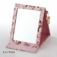 DISNEY Minnie Marie Alice Folding Stand Makeup Mirror Glass from Japan E2049