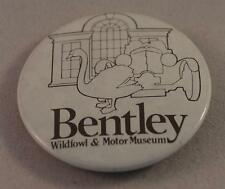 Vintage Bentley Wildfowl & Motor Museum Pin Pinback Button Badge