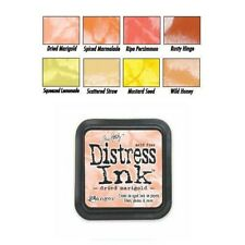 Tim Holtz Distress Rubber Stamp Ink Pad Oranges/Yellows