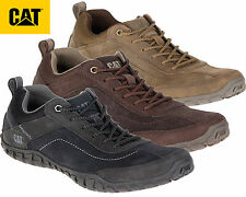 Caterpillar Mens Real Suede Leather Casual Trainers Lightweight Walking Shoe Ari