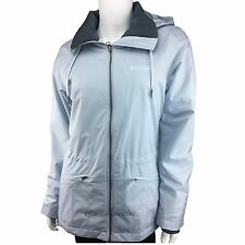 Columbia womens Omni Tech waterproof insulated mid rain jacket Gray XS S M L XL