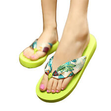 Women Summer Flip Flops Thong Sandles Casual Flat Slippers Shoes Sandal Big Size