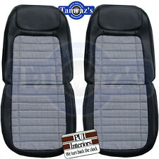 1968 Camaro Houndstooth Deluxe Front & Rear Seat Upholstery Covers - PUI New