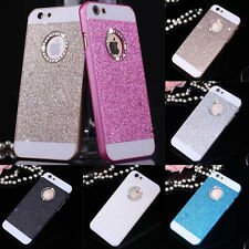 Bling Glitter Crystal Hard Back Phone Case Cover Gift For iPhone 4s 5s 6+Plus SE