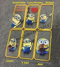 Minions Despicable Me 3D Case Cover for Iphone 5/5s/6/6Plus With 2 Free Gifts