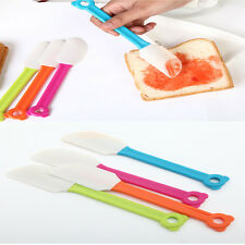 1 pc Kitchen Cooking Tool Silicone Baking Scraper Bread Spatula Butter Mixer Hot