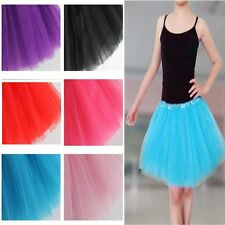 Tutu Skirt Princess Dressup Ballet Dancewear Children Kid Girls Dancewear
