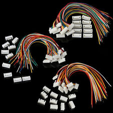 10sets 2S1P 5S1P 6S1P Battery Balance Charger Cable Wire Connector JST XH Plugs