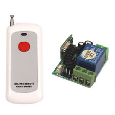 Mini 12V Wireless 1CH Channel RF Remote Relay Control Switch For light Bulb Lamp