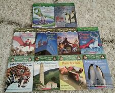 Lot of 10 Magic Tree House Books, Osborne, Merlin Mysteries, Research Guides