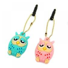 3.5mm Stopper Dustproof Phone Dust Plug Owl for IPhone Samsung Tablet MP3/MP4
