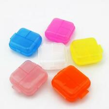 Storage Container Organizer Pill Box Double Layer Case Jewelry