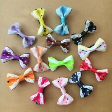 20PCS/LOT Handmade Pet Dog cat Accessories Grooming Hair Bows Dogs hair clips