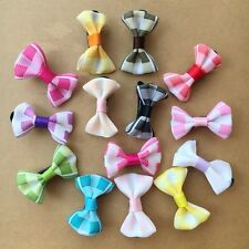 20PCS/LOT Handmade Pet Dogs puppy Accessories Grooming Hair Bows Dogs hair clips