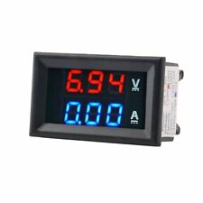 DC 100V 10A Voltmeter Ammeter Blue+Red LED Amp Dual Digital Volt Meter Gauge IM