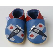 Daisy Roots - Aeroplane – Soft Soled Baby Shoes